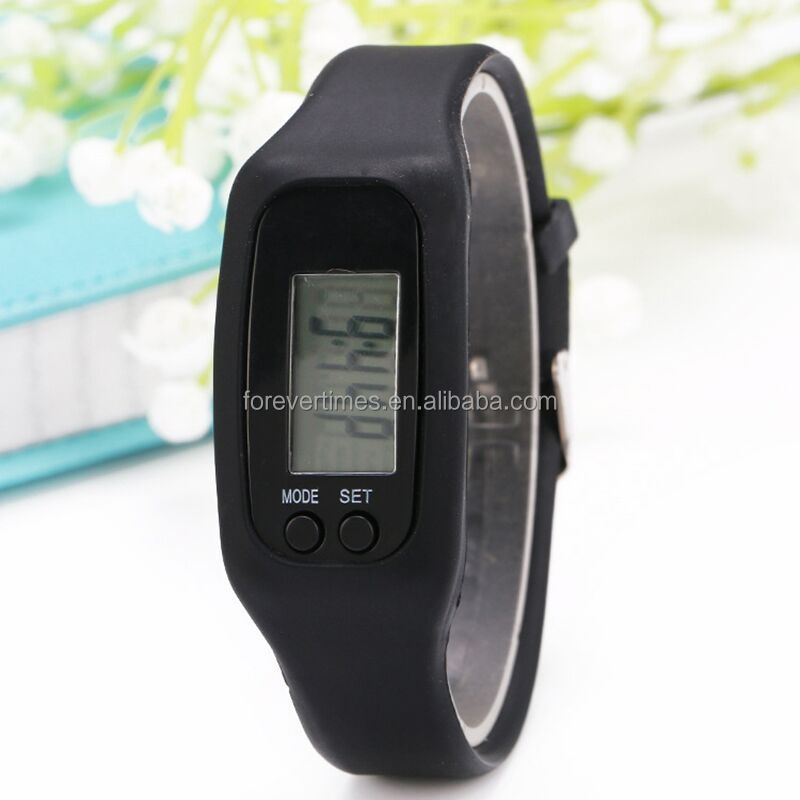 High Quality Wristband Calories step counting pedometer watch