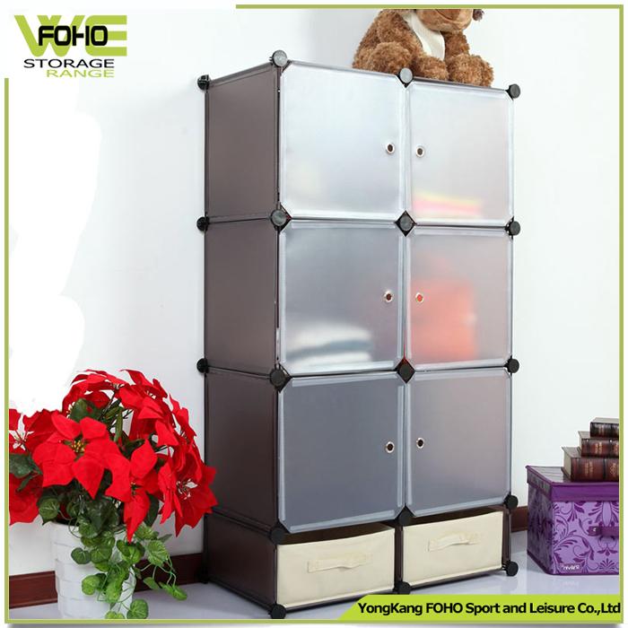 Diy pl stico armario del gabinete y zapatero caja de for Armario zapatero pvc