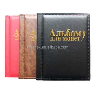 Russian Coin Album 10 Pages fit 250 Units Collection Book Coins Holder Album Book