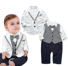 New Hottest Gentleman infant toddler boy <span class=keywords><strong>vestiti</strong></span> invernali