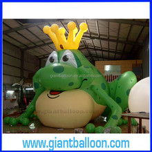 Inflatable Giant Platstic Frog