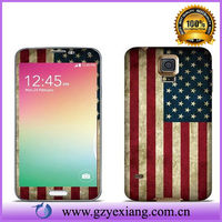 USA Design Screen Protector for samsung S5 screen printing machine