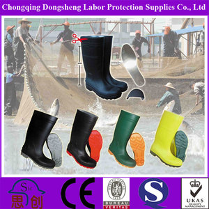 PVC And Nitrile Food Industrial CE Work Wellington Boot