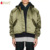 Mannen Winter Mode Nieuwe Stijl Gewatteerde Oversized Hooded Varisty Gewatteerde Jassen Nylon Stretch Lang Satin Bomber Jacket