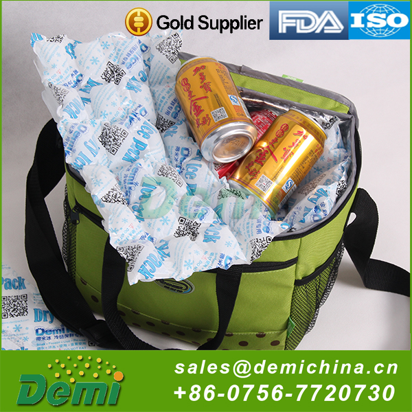 Durable using low price ISO9001 disposable cold cool gel pack,freeze gel packs