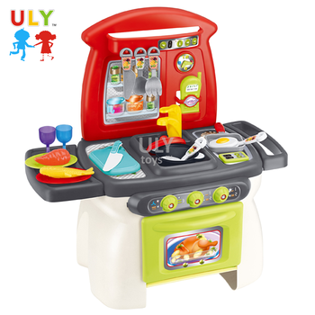 Best Price Kids Paly Plastic Toys Cooking Set Toy Kitchen Accessories