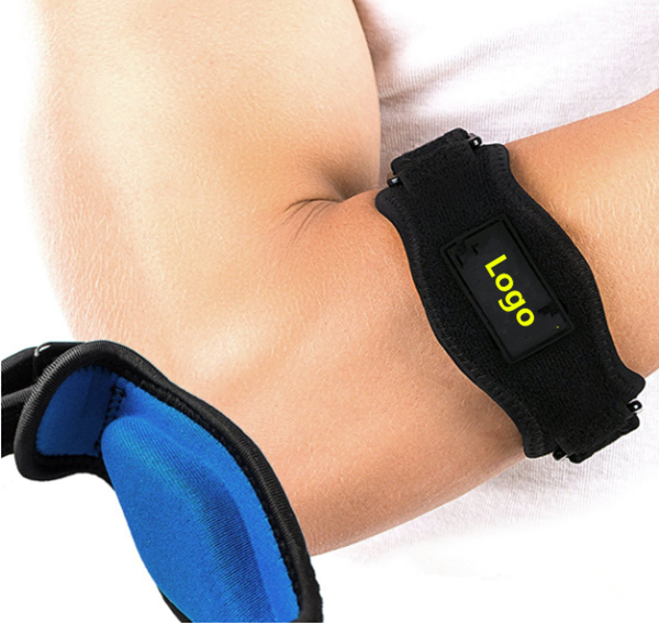Hot Sale Elbow Brace with Gel Pad - Includes 2 Elbow Support Braces Pain Relief for Tennis and Golfer's Elbow