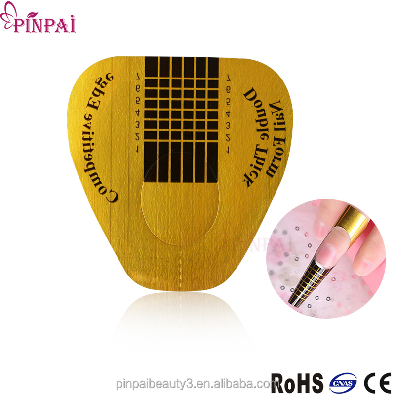 pinpai brand professional reusable manufacturer paper nail form