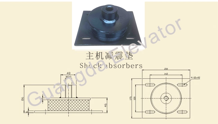 Elevator Shock Absorber ,daming pad for elevator safety