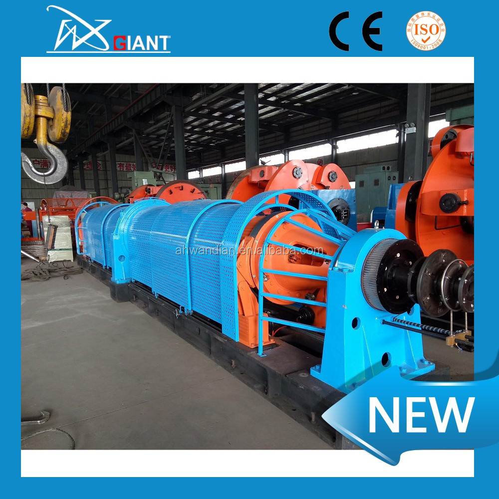 China maufacturer direct factory 1+6/ 200 Cable Steel Wire Twist Tubular Strander Machine