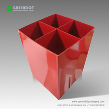 Supermarket Display Racks POP Retail floor corrugated displays, exhibiting cardboard dump bin