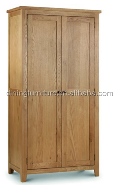Marlborough 2-Door Wardrobe, Waxed Oak