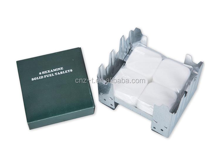 Etiqueta: hexamine sólido combustible tabletas y estufa de camping