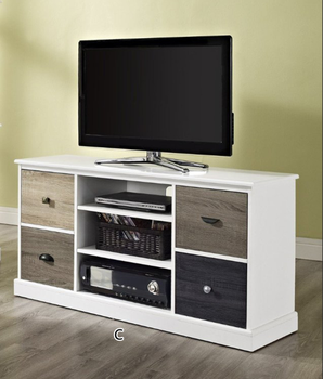 Utility Handle Design Rustic Wooden Led Tv Table - Buy Led Tv ...
