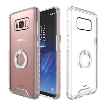 premium selection b1076 16b24 Ultra Thin Clear Hard Acrylic Ring Stand Back Cover For Samsung Galaxy S8  Case - Buy Ultra Thin Clear Hard Acrylic,Ring Stand Back Cover,For Samsung  ...