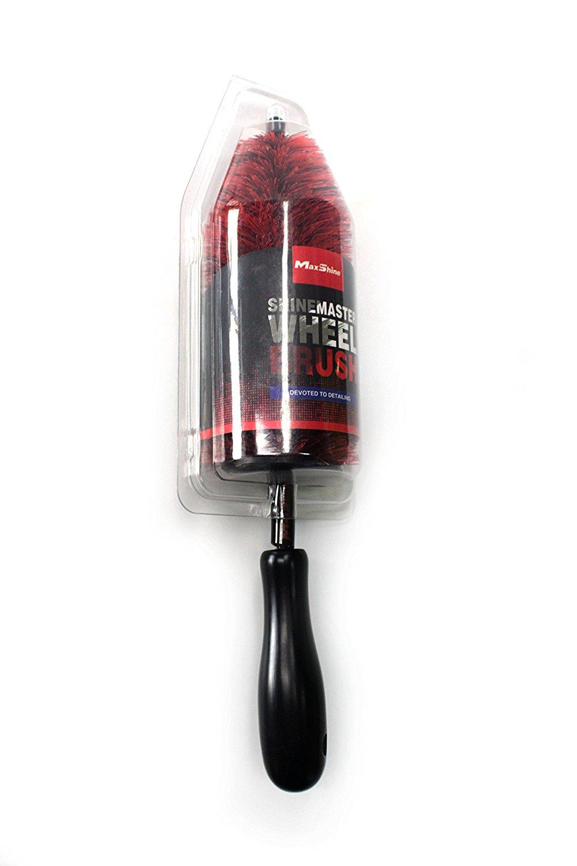 Maxshine ShineMaster PP-Long handle Wheel Brush (Length 45cm)_quick, effective cleaning of all wheels