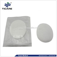 Oval Sterile Gauze Eye Pad Surgical Cotton Filled Non Woven Eye Pads