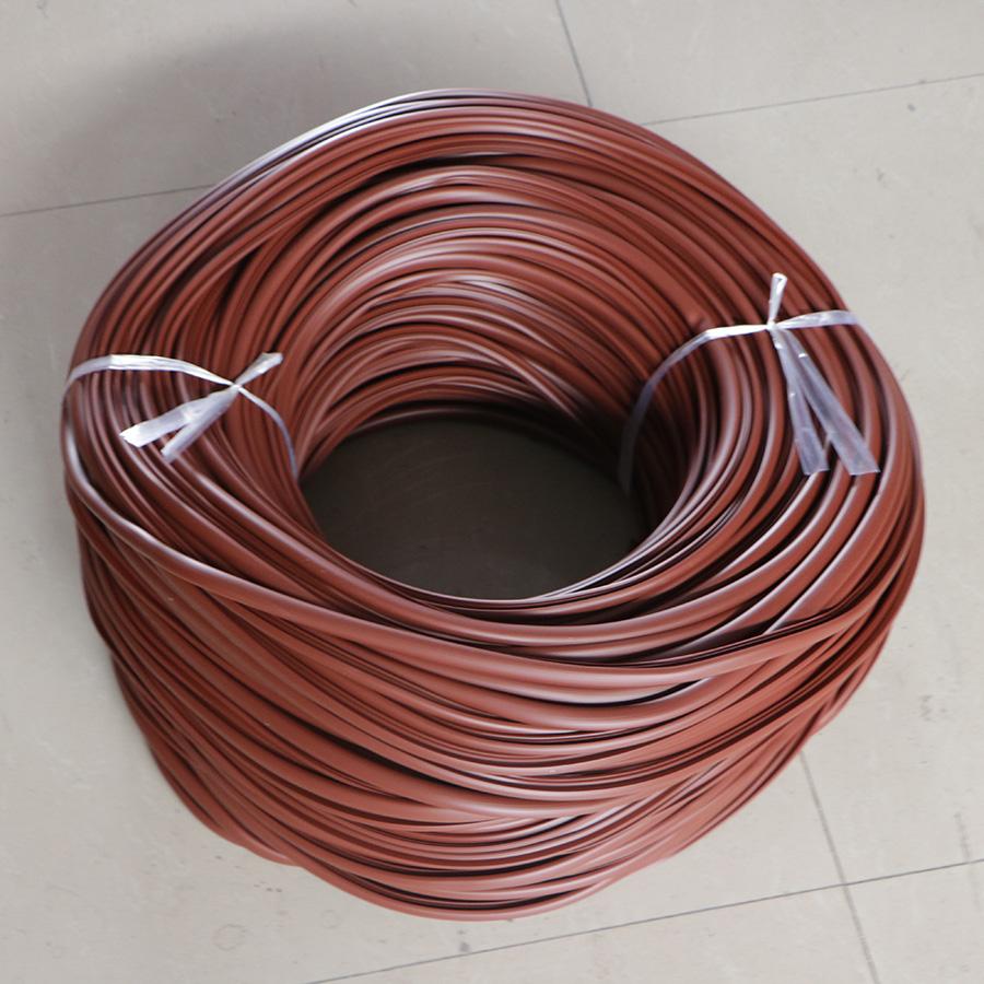 Puerta marrón reparación PVC tiras de sellado de caucho de madera ...