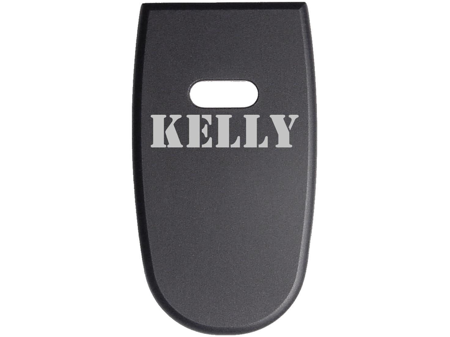 for S&W M&P Shield .45 Aluminum Floor Base Plate Black Custom Laser Engraved: Name Kelly By NDZ Performance