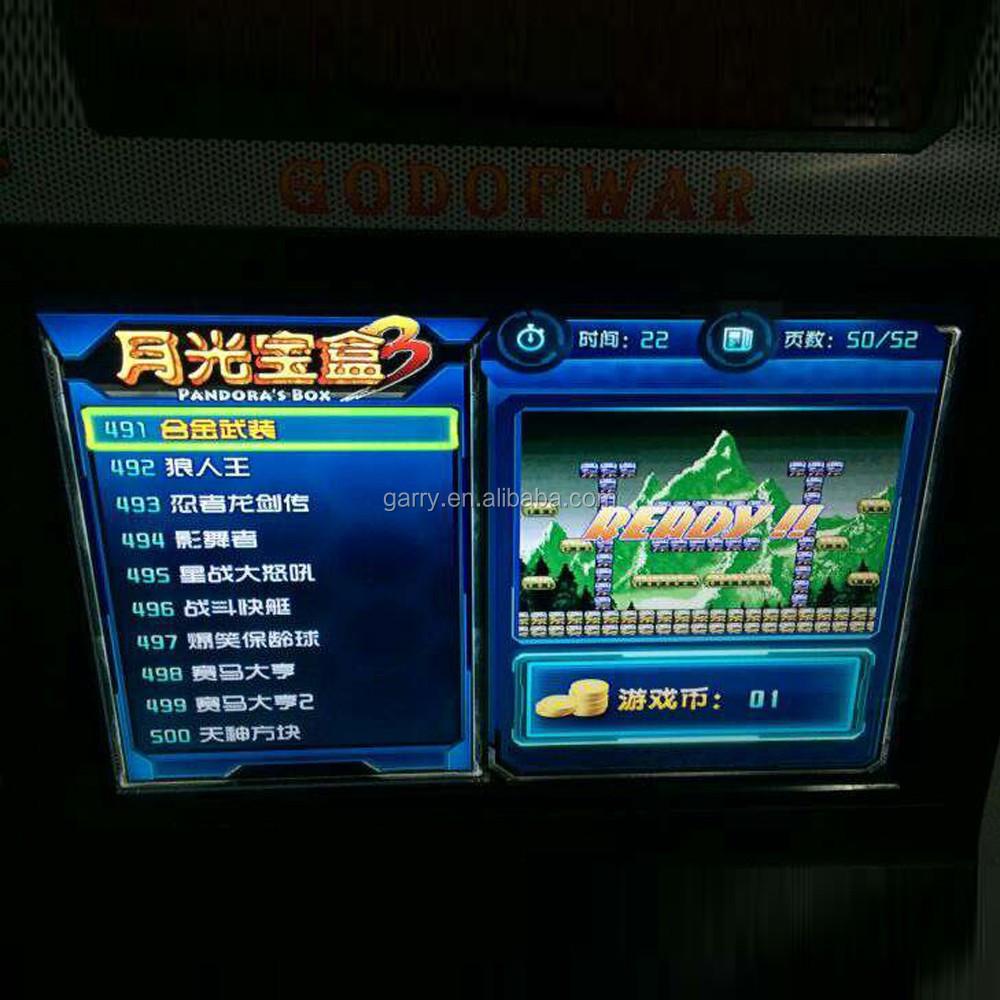 Video Game Consoles Pandora 's Box Arcade Jamma Multi Game Board ...