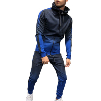 CA New Design 3 Color Breathable Comfortable Wear Men's Sports Track Suit Set