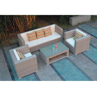 XG3170 Leisure rattan furniture sofa set/Outdoor white wicker garden patio furniture/ Garden fashion wicker sofa furniture