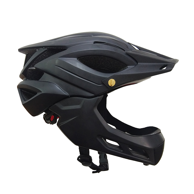 New Style MTB Downhill Full Face Bike Helmet With Removable Chin Guard фото