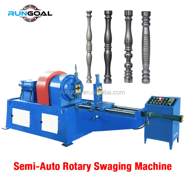 Langsung Produsen Semi Auto Metal Tube Pipe Embossing Machine