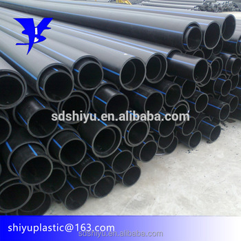 China Factory Hdpe Pipe Sizes In Mm And Inches