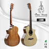 40inch AAA Srpuce wood Top cutaway acoustic guitar factory price (L-640)