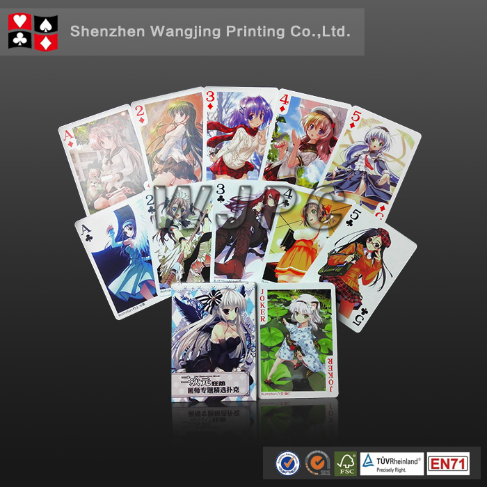 Wholesale Oem Custom Play Card 320Gsm Playing Cards