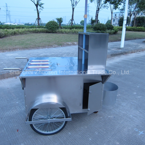 Hot Dog Pizza Trailer / Bike Hot Dog Trailer / Stainless Steel Electric Hot Dog Trailer
