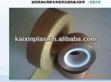 PTFE Teflon non stick surface woven cloth adhesive tape
