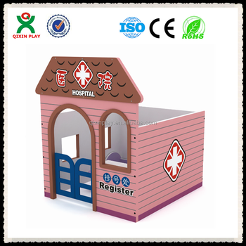 Childrens Furniture Toys Hospital Type Doll House Kids Cardboard - Type of house for kids