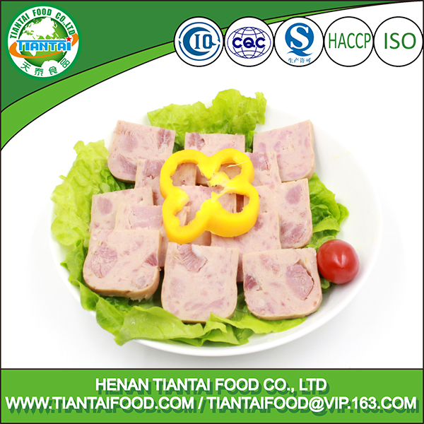 ready to eat canned xuanwei pork ham corned ham luncheon meat in tins