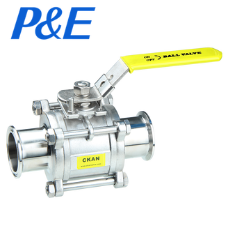 Direct manufacturer high Platform sanitary stainless steel ball valve