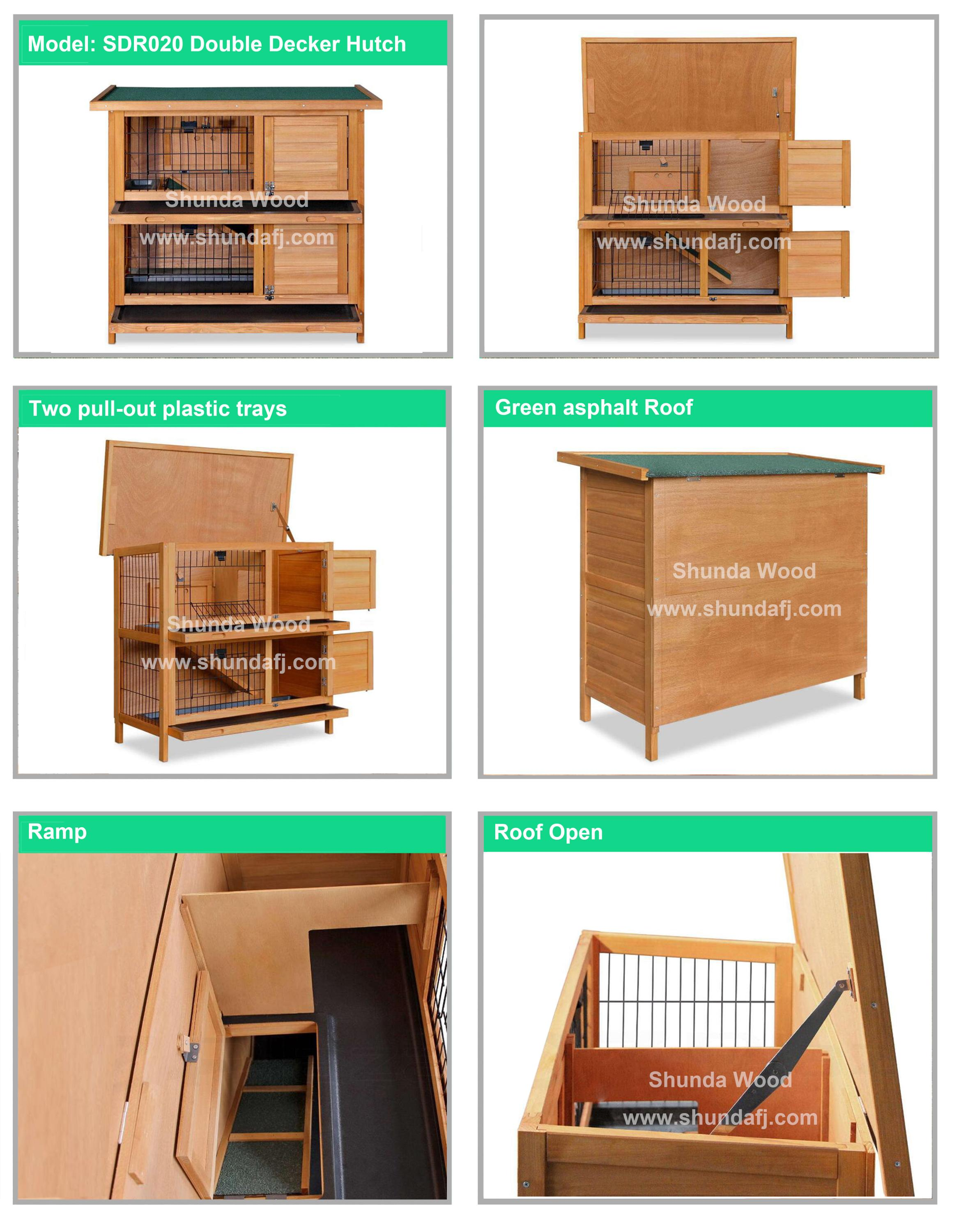 house hutch w hutches rabbit pets handmade wooden shed bunny guinea itm sale pig for doors cage small