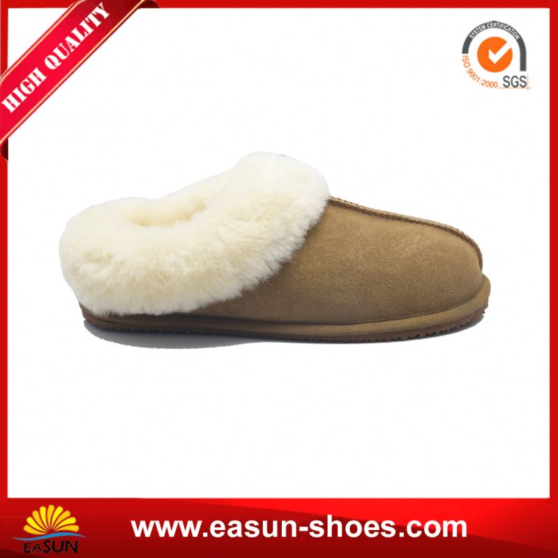 Furry Moccasins Womens Shoes Ladies Sheepskin Slipper Moccasin Moccasin House Shoes Women