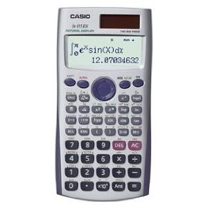 Casio Advanced Scientific Calculator with 2-Line Natural Textbook Display (FX-115ES) Virtual 2 Line Calulator New Gadget