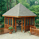 Chinese suppliers Natual Cheap price outdoor modern gazebo