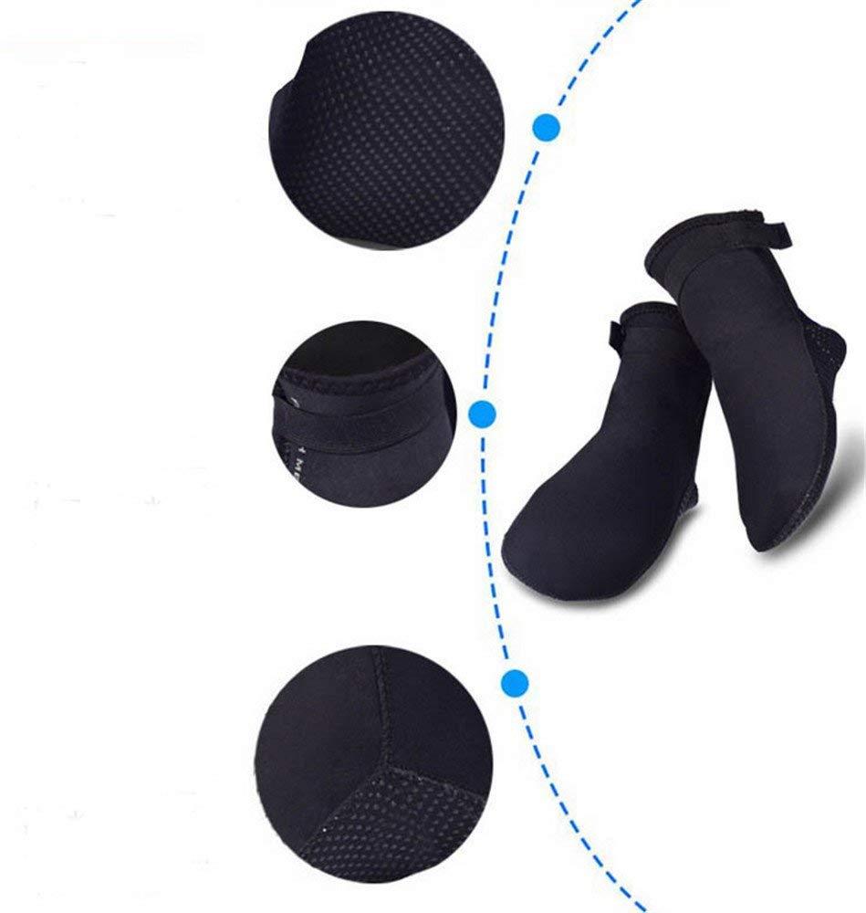 618a7e01a771 Get Quotations · 3mm Neoprene Socks-Wetsuits Premium Neoprene Water Sport  Anti-Slip Socks for Scuba Diving