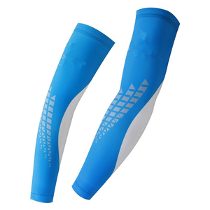 Printed Sleeves Cycling Arm Sleeves Sun UV Protective Arm Warmers for Outdoor