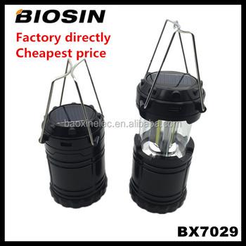 Manufacturer Cheapest Solar Lantern,6led Solar Camping Light For ...