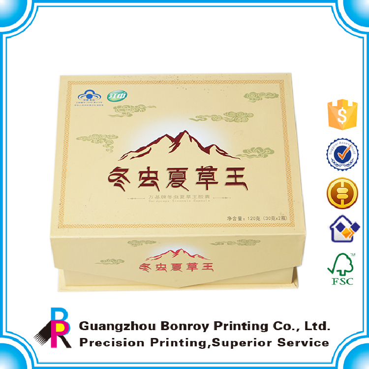 2015 guangzhou eco friend top grade cardboard mooncake packaging box