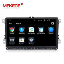 9 zoll 4g wifi Android8.0 auto gps dvd multimedia player Für Volkswagen <span class=keywords><strong>Golf</strong></span> unterstützung navi Ipod BT radio mic
