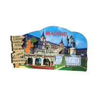Souvenir Holland 3D Wood MDF Fridge Magnet