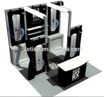 Small Expo Stands : Small booth stand by for trade show exhibition expo stands