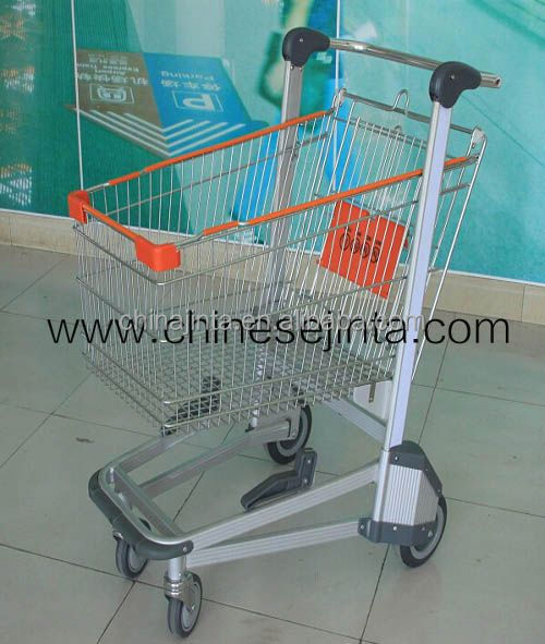 High quality airport hand used shoping luggage carts trolley