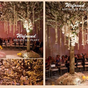 Wf-1086 Romantic Wedding Ideas Artificial Cherry Blossom Tree Fake ...