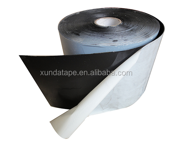black or yellow color bitumen pipe wrapping tapes for pipe joints